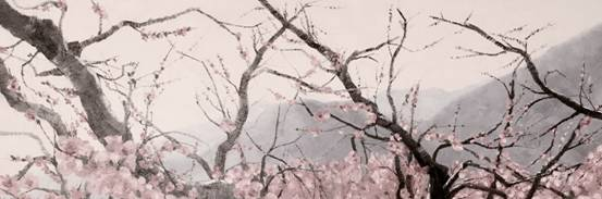 牟介宇   1985年出生于潍坊,毕业于湖北美术学院,青年油画家。擅长油画、版画。2006年以山东省第一名的成绩考入湖北美术美院。在校学习期间成绩突出,屡获佳绩,作品颇受导师和理论界关注。本科四年学习毕业后一直从事绘画教育工作和油画创作,现生活于北京、潍坊。创作理念深受前辈名师的绘画美学影响,崇尚西方油画大师。先后去美国、法国、意大利、新加坡等国家进行艺术考察,作品被多家艺术机构、画廊、海内外收藏家所收藏和青睐,被业界称为中国后生代青年画家代表之一。    印象桃花之牟介宇   桃树与桃花有不可分割的天