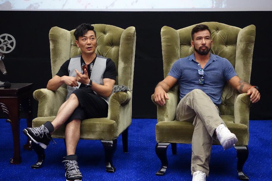 演员吴樾来长 畅谈电影《杀破狼·贪狼》www.yh548.com
