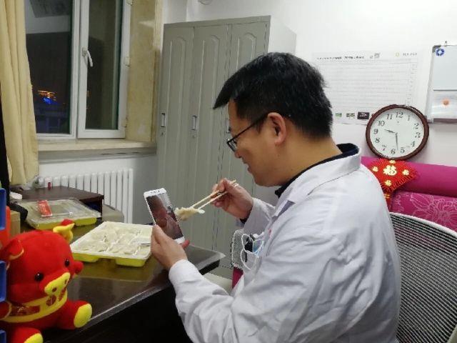 病房视频陪伴的护士春节人类溯源1医生图片