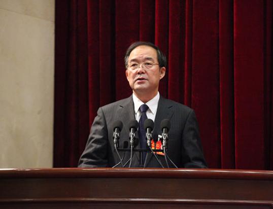 吉林省政协主席黄燕明作工作报告