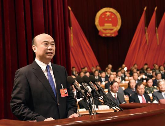 吉林省代省长刘国中作政府工作报告