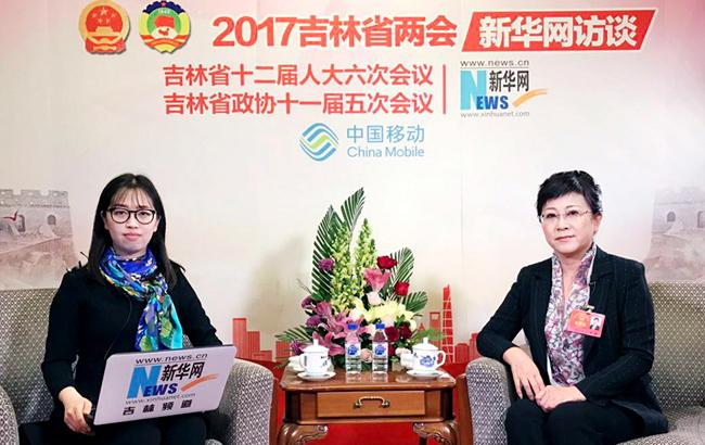 李丽接受新华网专访