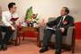 新華訪談吉林省政協主席黃燕明