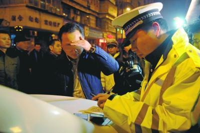農安交警兩天內查獲兩名醉駕司機