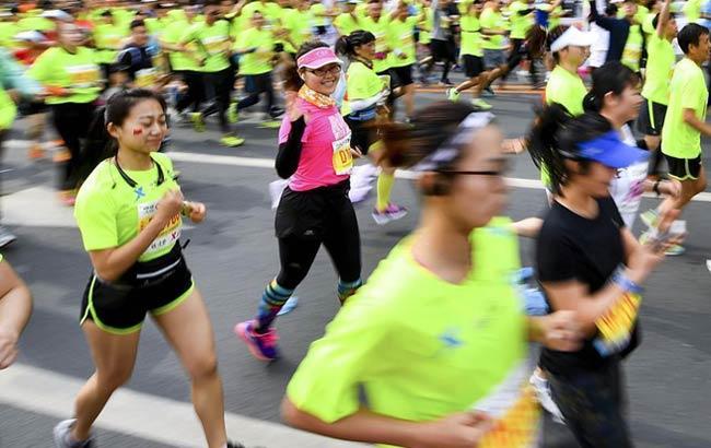 馬拉松——2017長春國際馬拉松賽鳴槍開賽