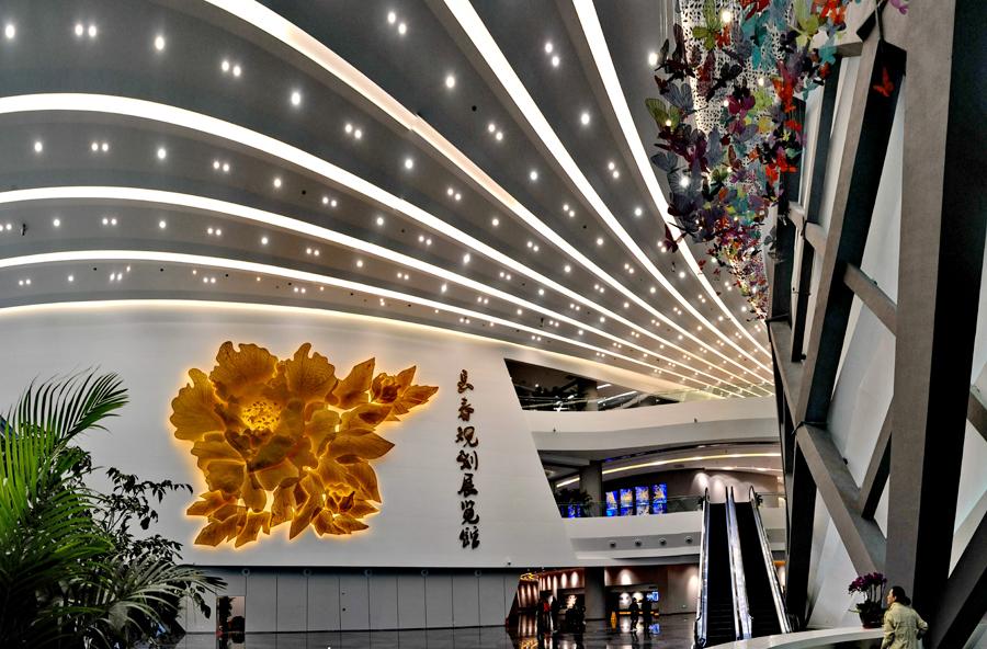 長春市規劃展覽館:一朵綻放的城市之花