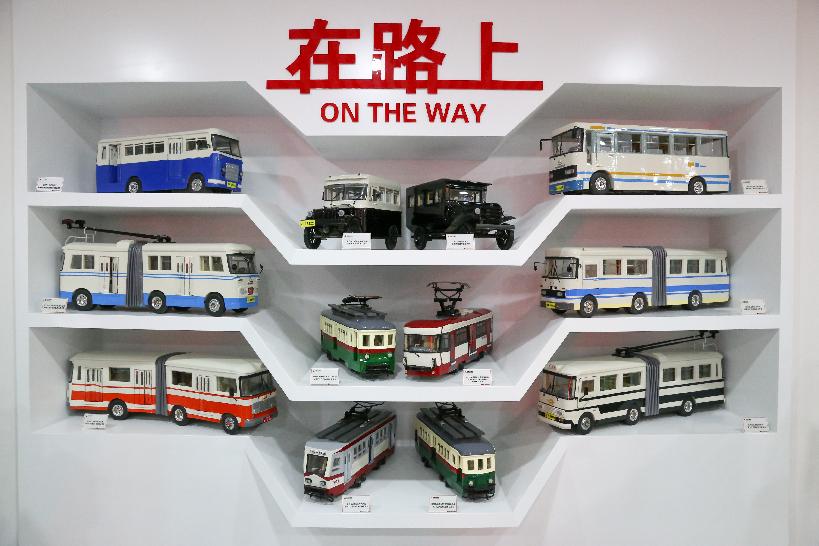 快來看90年前的公交車