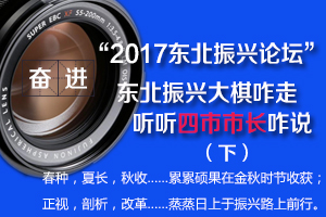 """图说""""2017东北振兴论坛""""之四市市长话振兴(下)"""