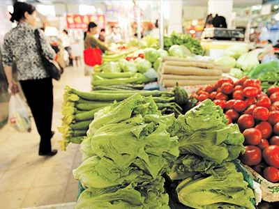 吉林省蔬菜價格上揚 肉蛋禽魚果價下降