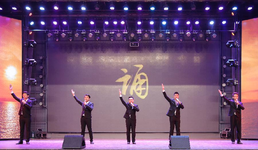 2017吉林省高校朗誦藝術交流展演在長春舉行