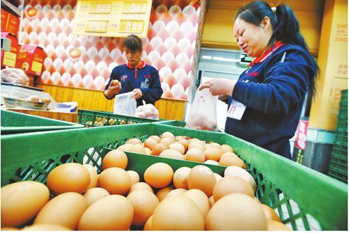 雞蛋零售及批發價格上漲