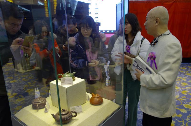 紫砂壺普洱茶名家名品品鑒會在長春舉行