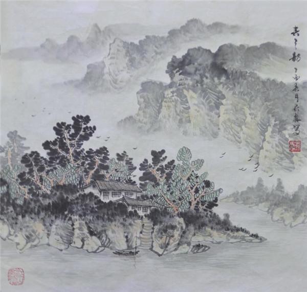 吳長祿國畫作品選登