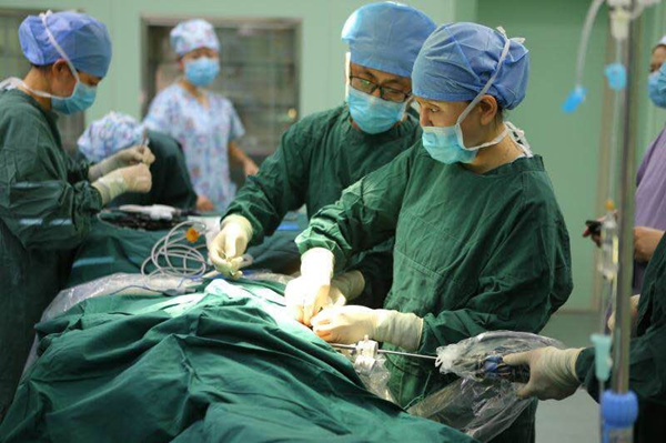 長春市兒童醫院完成兒童腎盂積水腹腔鏡微創手術
