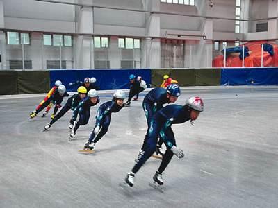 備戰第十八屆省運會 長春速度滑冰短道速滑重點運動員蓮花山封訓
