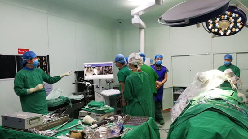 吉林省首例机器人骨科手术在吉大一院完成