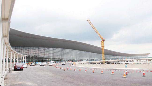 长春龙嘉机场新航站楼通过竣工验收