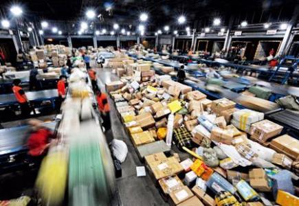 1-6月吉林省快递服务企业业务量累计完成9703.71万件