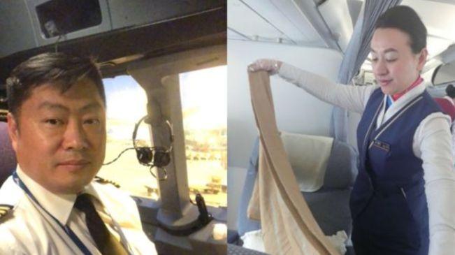 南航吉林分公司機上夫妻的中秋印象:雲上團圓亦溫暖