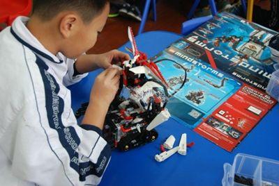 吉林省機器人大賽激發青少年科學興趣