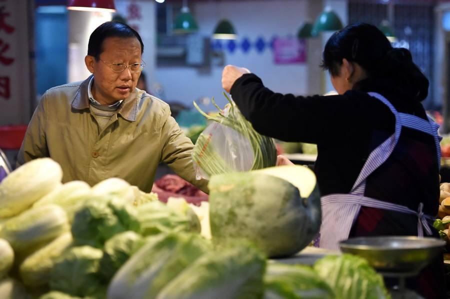 節日市場供應充足 長春市菜價穩中下降