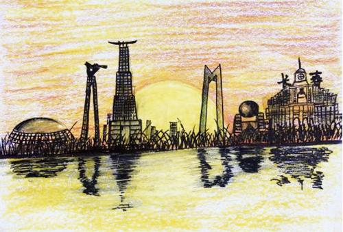 中國兒童畫國際巡展走進美國芝加哥校園
