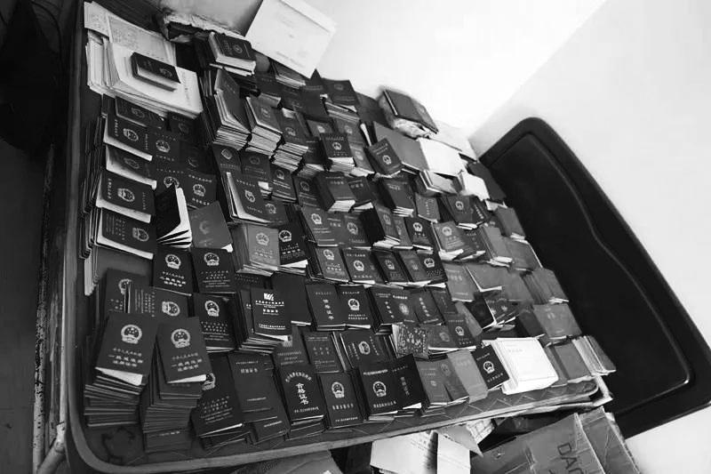 用570余枚假公章做假證的違法團夥被長春警方打掉