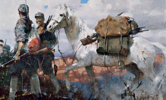 谷鋼油畫展在吉林藝術學院開展