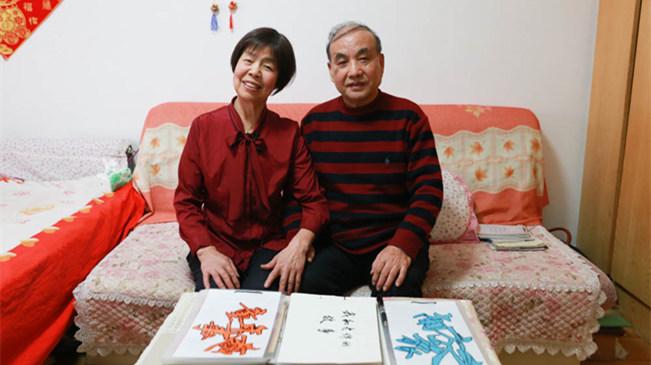 新华访谈:长春老两口儿百幅铅笔画浓缩60余载岁月