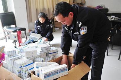 安圖縣警方順藤摸瓜打掉跨省制售假藥團夥
