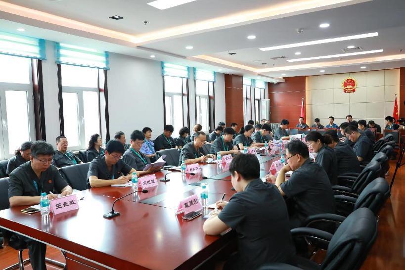 延邊州法院院長工作會議在延吉召開