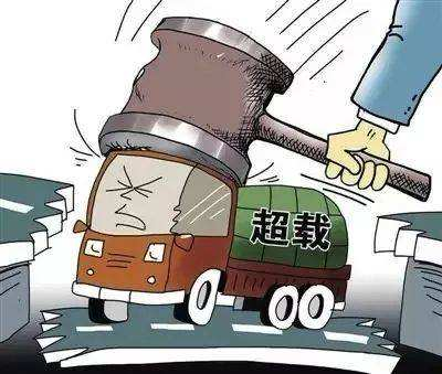 長吉南線淩晨頻現貨車 交警攔截四輛全部超載