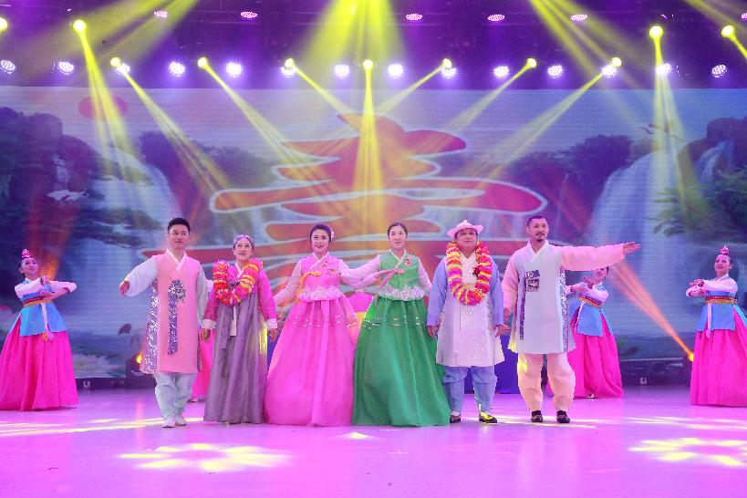 长春市朝鲜族各界群众迎新春专场文艺演出精彩上演
