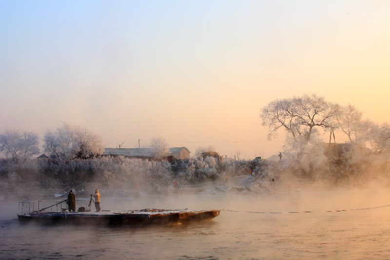 """吉林市乌拉街:与雾凇""""结缘""""的满族小镇"""
