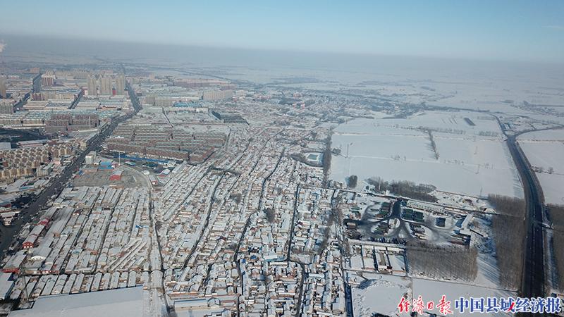 """吉林省榆樹市借助智能化無人機助力防控戰""""疫"""""""