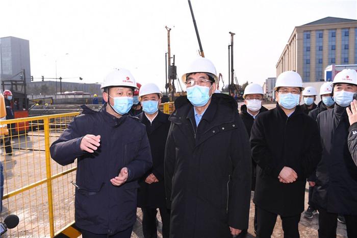 吉林省委書記巴音朝魯:全面加快建設進度