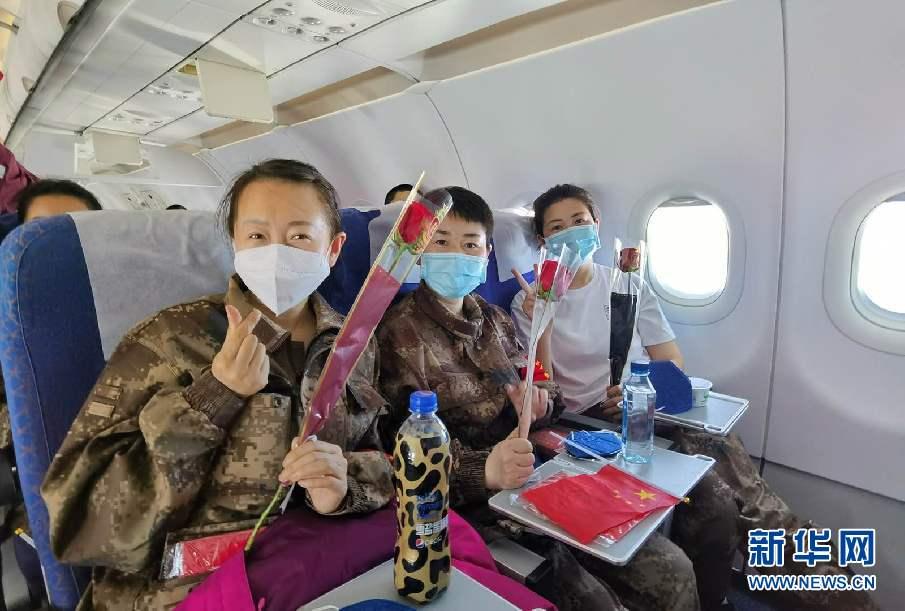 英雄載譽歸 春風吉人還——南航包機接吉林醫療隊員回家