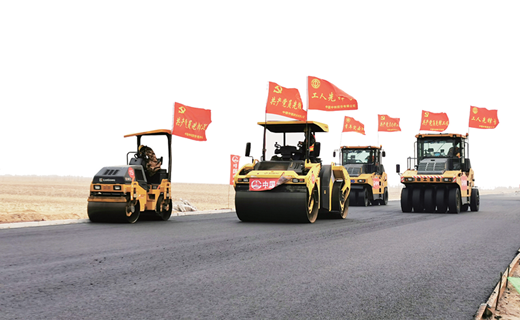 吉林省交通重大項目建設一線掠影