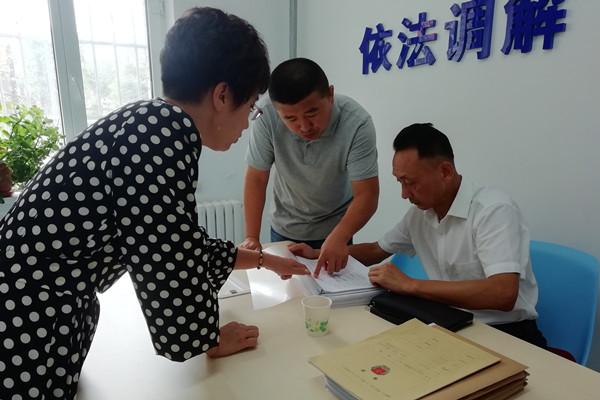 長春市寬城區司法局:清風拂綠學法忙
