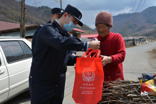 吉林臨江:禁毒宣傳進山村