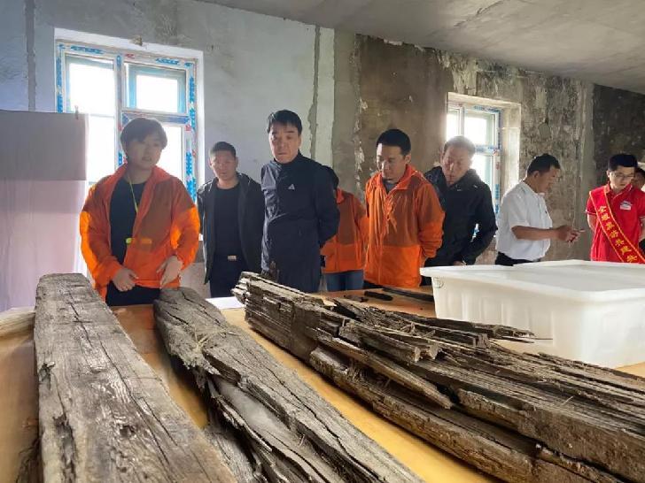 老黑河遺址成立文物科技保護工作室