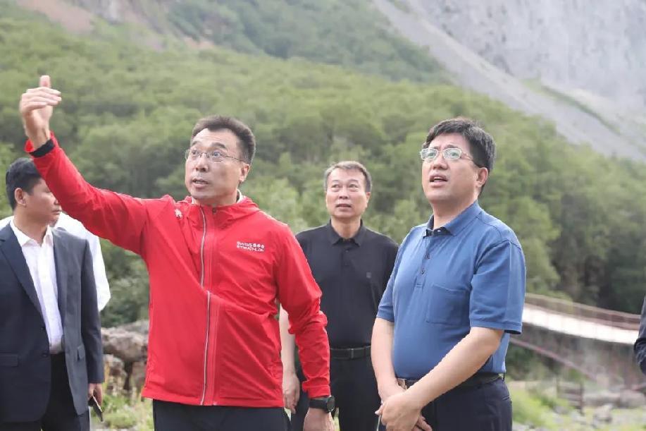 阿東到長白山北景區調研疫情防控工作情況