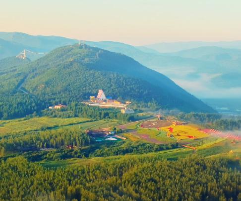 鸟瞰琵岩山