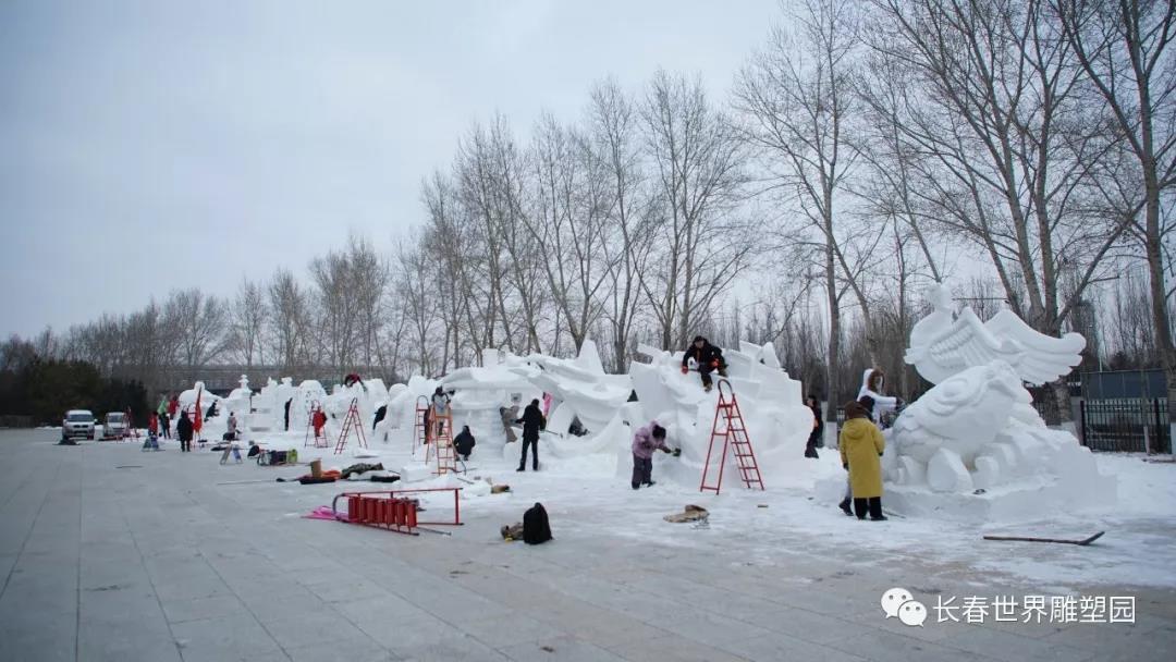 第六屆中國長春大學生雪雕比賽徵集公告