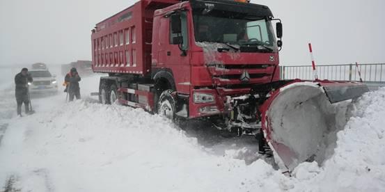 吉高集團:風雪不停,道路不暢,我們不休!