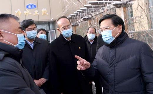 韓俊在長春市調研:及早恢復正常生産生活秩序 消除災害影響