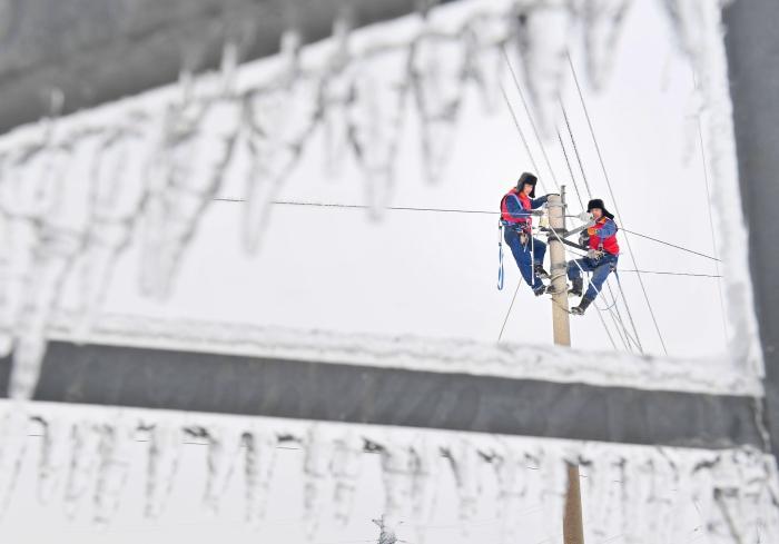 國網吉林供電公司:黨旗下的破冰行動