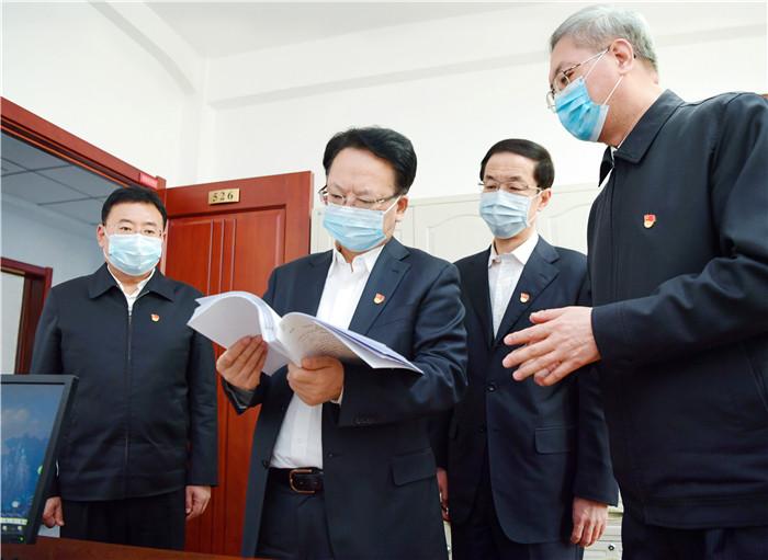 景俊海:為新時代吉林振興發展提供堅強保障