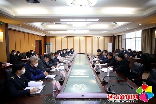 蔡奎龍主持召開疫情防控工作會議