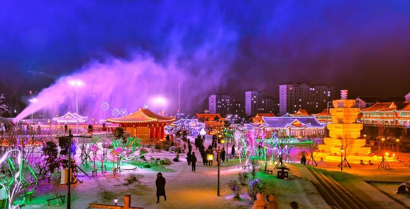 第八屆延吉國際冰雪旅遊節側記